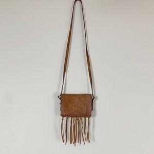 💋SALE Brian Atwood fringe cross body purse